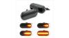 Диодни мигачи за калник за BMW E36 / E34 / E32 - опушени с бягащ мигач